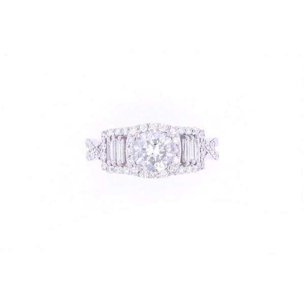 Brilliant 2.00 cts. Diamond Platinum Unity Ring