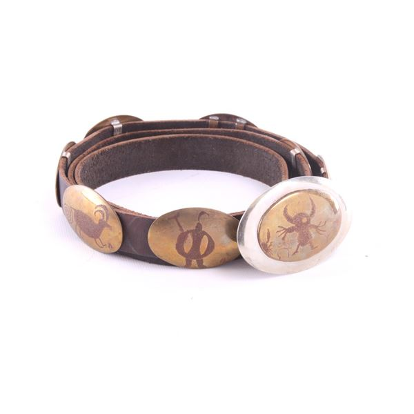 N.W Wyoming Bailey Nelson Supernatural Concho Belt