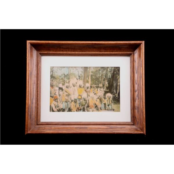 Framed Native American Print by Tom Lawrence 2001