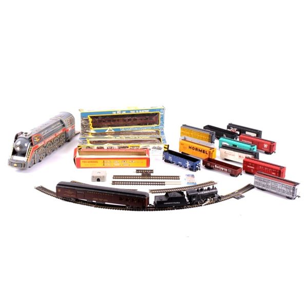 Collection of Assorted Mid Century Train Sets