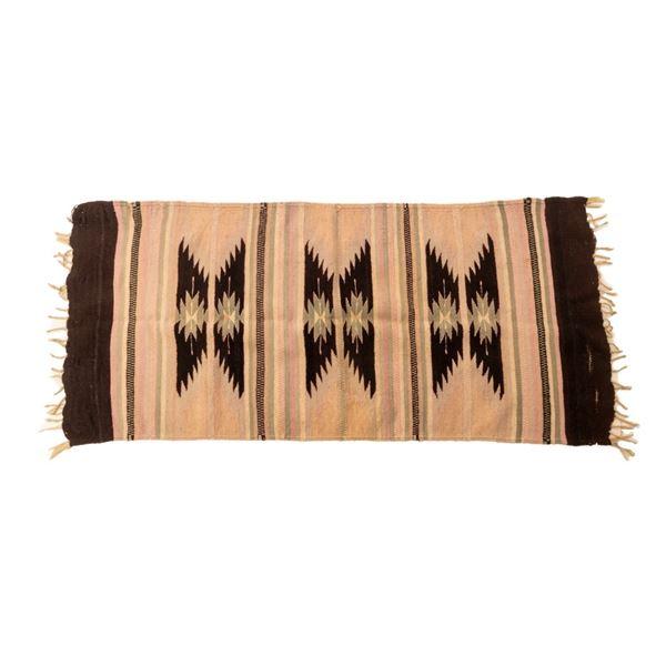 Zapotec Wool Navajo Style Pattern Rug