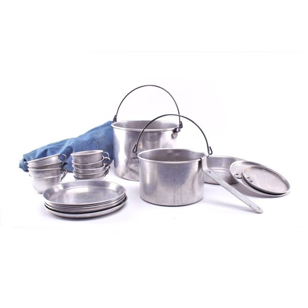Collection of Camping Cookware c. 1960's