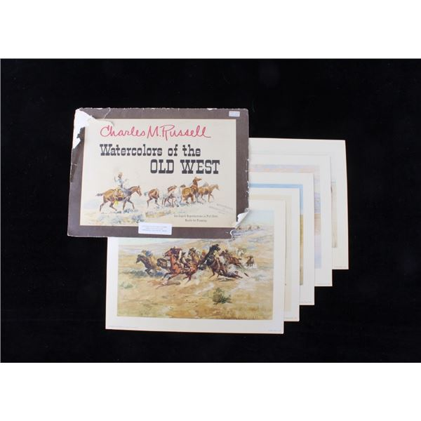 Charles M. Russell Watercolors of the Old West