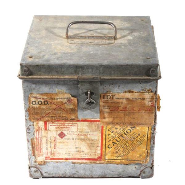 Early 1900's Railway Express Agency Lock Box