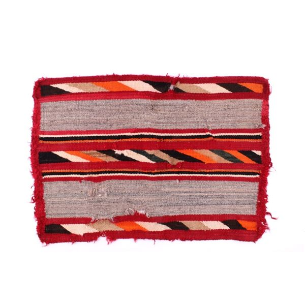 Navajo Chinle Pattern Wool Rug c. 1900-