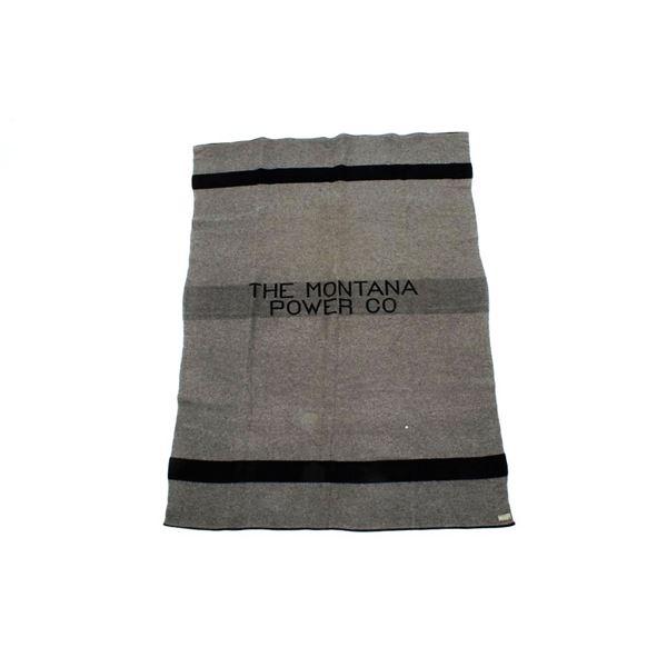 "Pendleton Wool Blanket ""The Montana Power Co."""