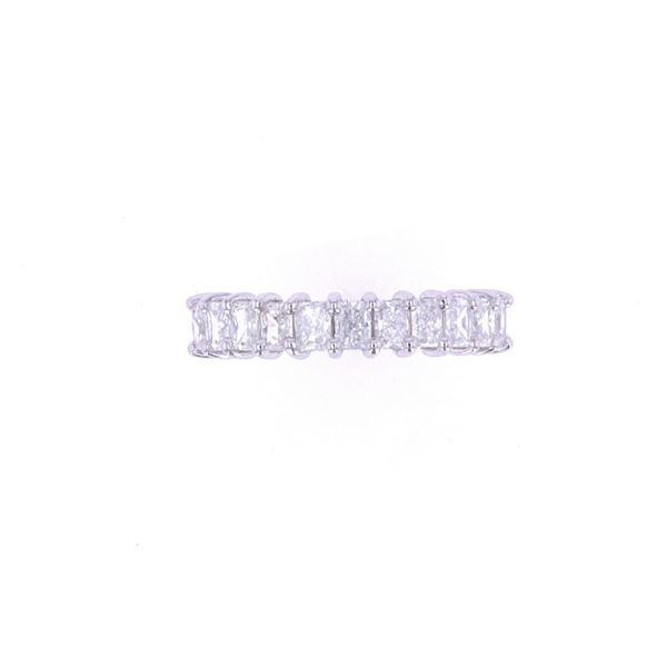 1.26 cts. Classic Radiant Diamond Platinum Ring