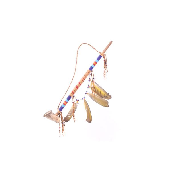 Northern Plains Indians Beaded Antler Unity Pipe