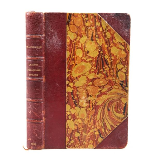 1859 Le Comte De Raousset-Boulbon Book
