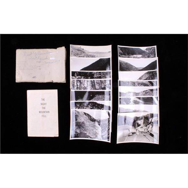 Original Photos & Book of  Montana '59 Earthquake