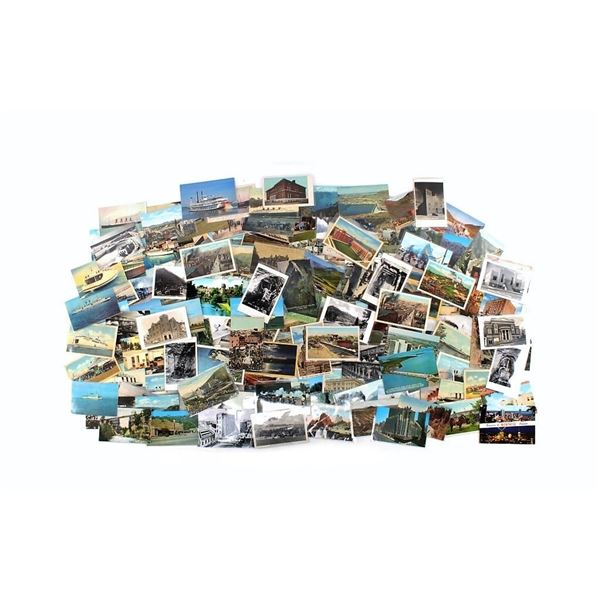 Collection Of Vintage Photo & Picture Postcards
