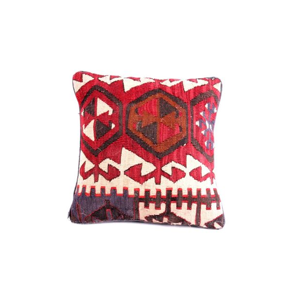 Zapotec Saltillo Hand Woven Pillow c. 1960's