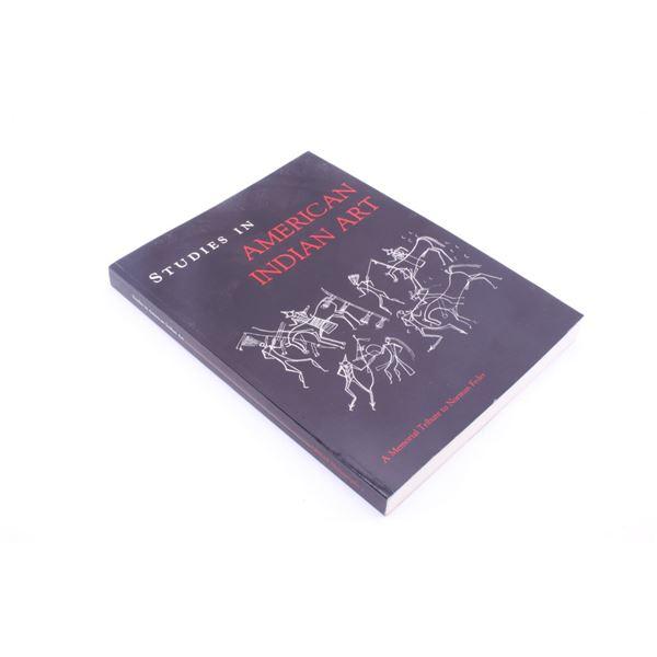 2001 Memorial Ed. Studies in American Indian Art