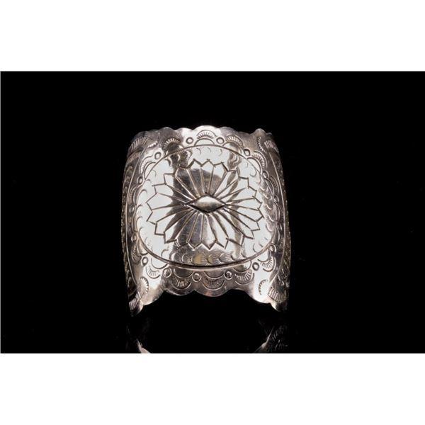 Armand American Horse Silver Southwestern Bracelet