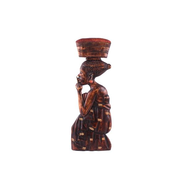 African Hand Carved Wood Wall Art
