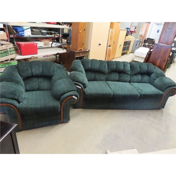 Matching Living Room Couch & Chair
