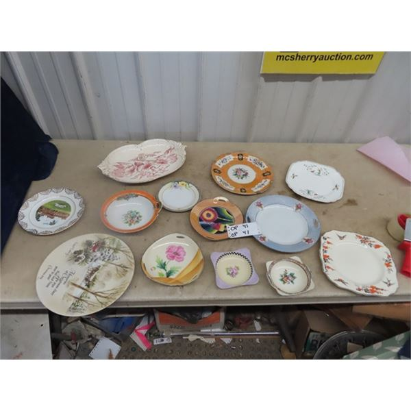 Various MIsc Plates - Noritake, Collector Plates Plus More!