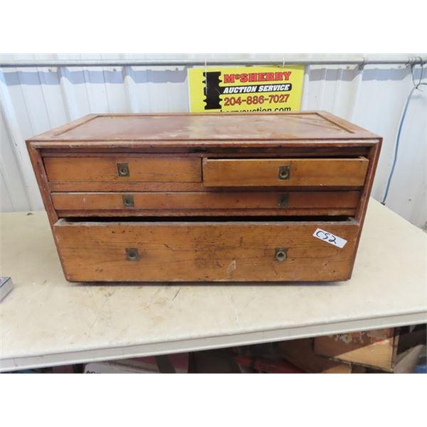 "Vintage Tool Cabinet  16"" H 32""W 16""D"