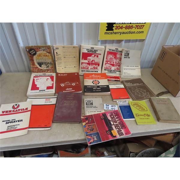 Truck Implement Manuals & Brochures