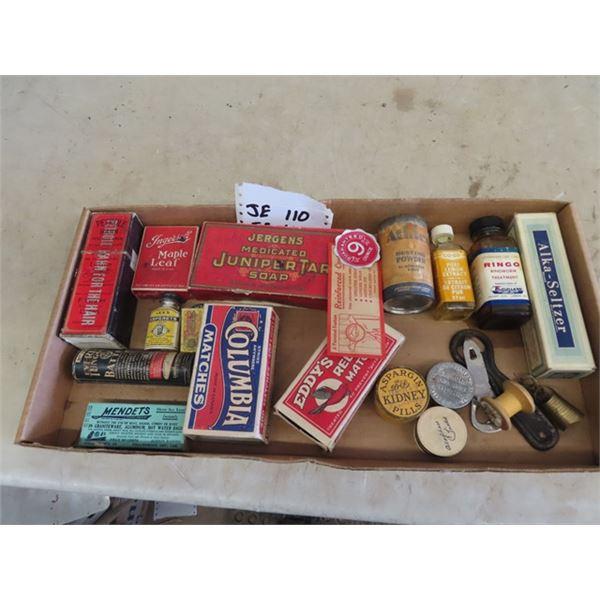 Vintage Medicine Bottles, Store Product Plus More!
