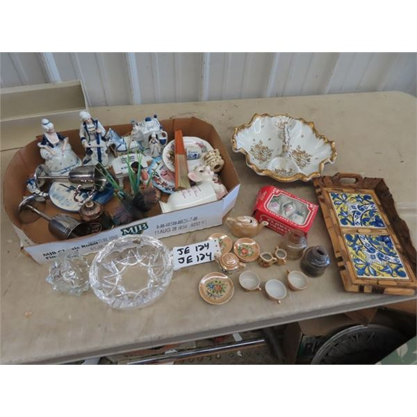 Mini Tea Set, Ornaments, Crystal Plus More!