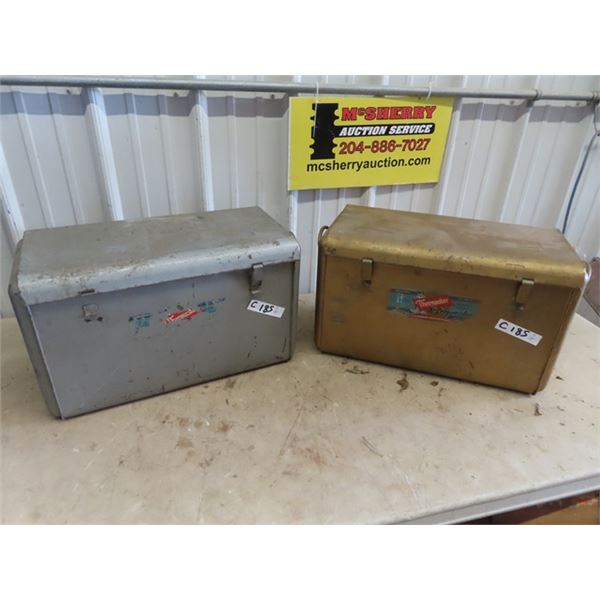 2 Thermaster Metal Coolers