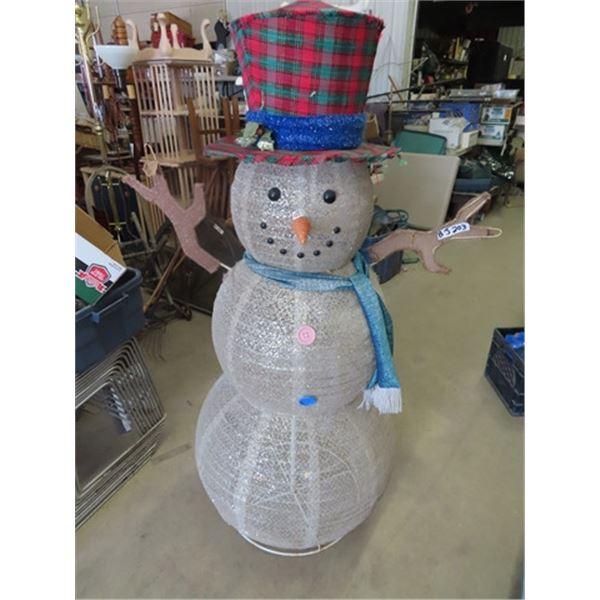 """Snowman Display 60"""" Tall"""