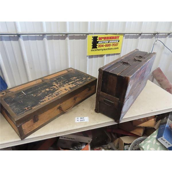2 Carpenters Boxes