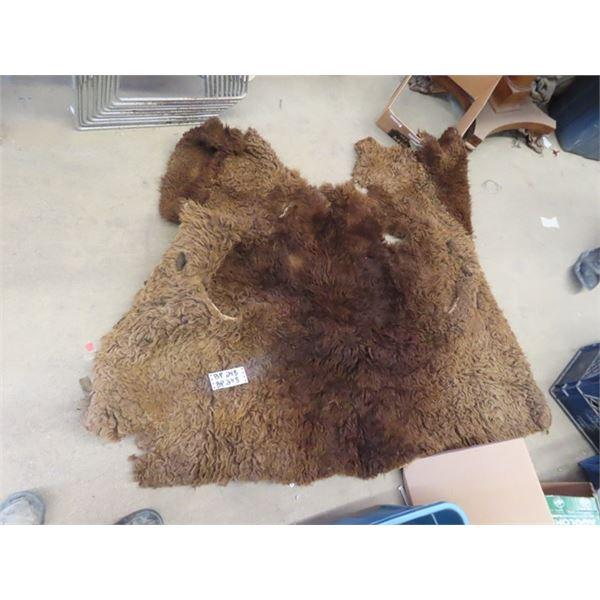 Buffalo Hide- Keep Mama Warm When Your too Lazy!