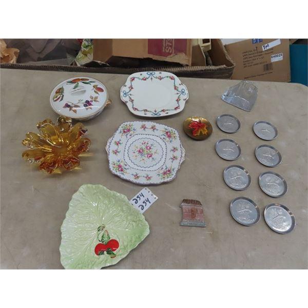 Carlton Ware, Chalet Glass, Royal Albert Plus