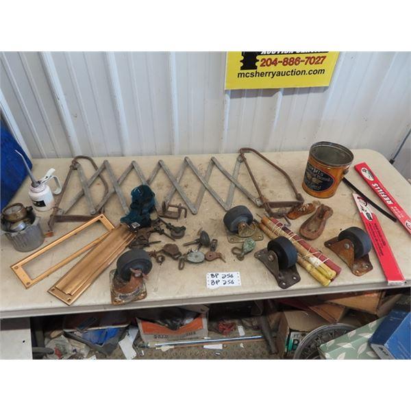 Castors, Wipers, Gauges, Door Hardware, Plus More!