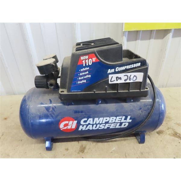 Smaller Campbell Hausfield Air Compressor