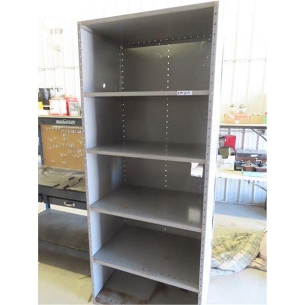 """Metal Shelf 80""""H 36""""W 24""""D"""
