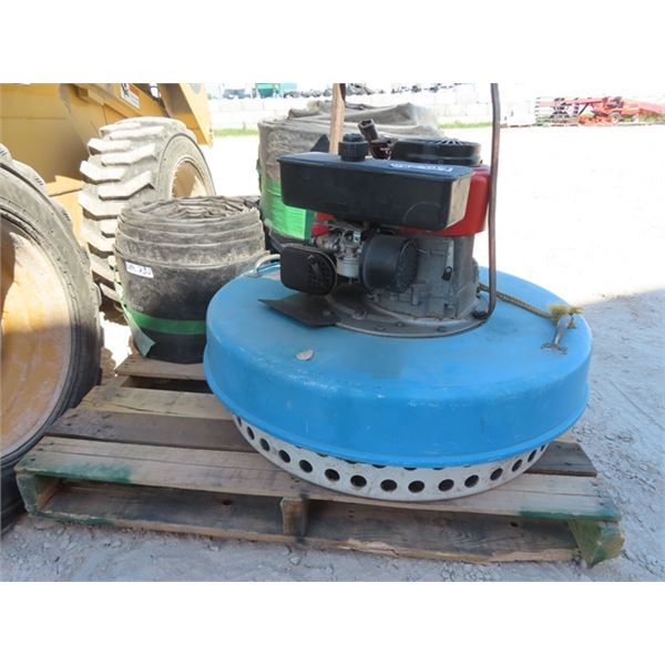 """6 HP Floating Water Pump 6""""W Over 400' Hose"""