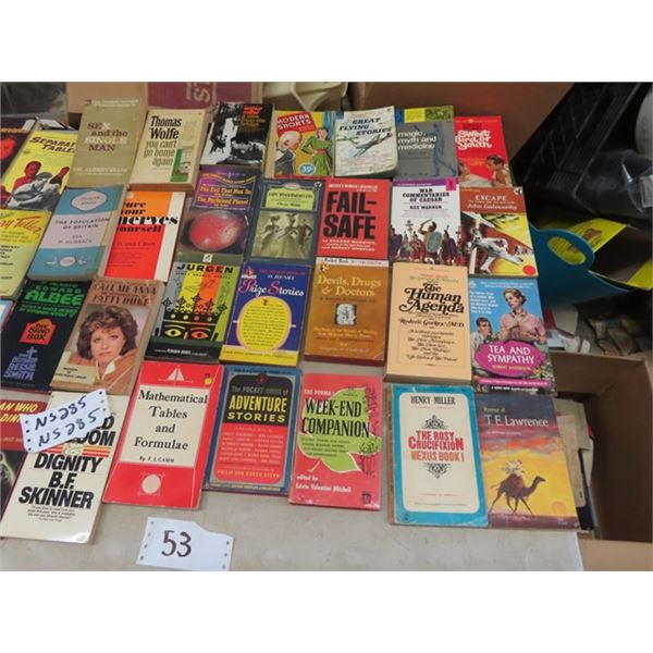 Approx 53 Pocket Books