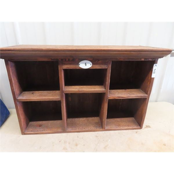 "Desk Top Hutch/ Organizer 24""H 40""W 11""D"