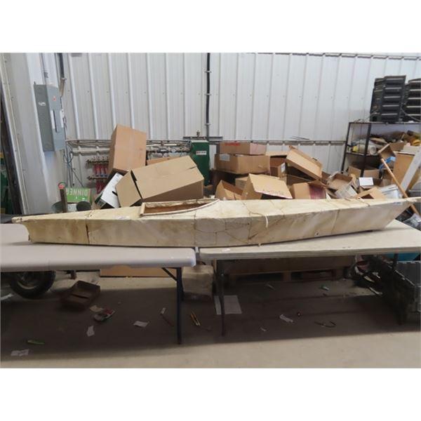 Kayak 10' Long - Made of Hide