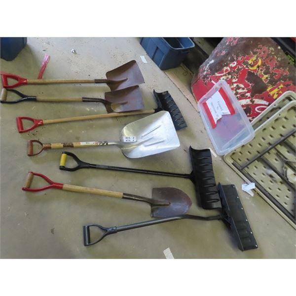 (F) 7 SHovels & 5 Spades