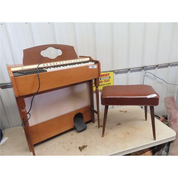 (F) Orcana Organ w Bench