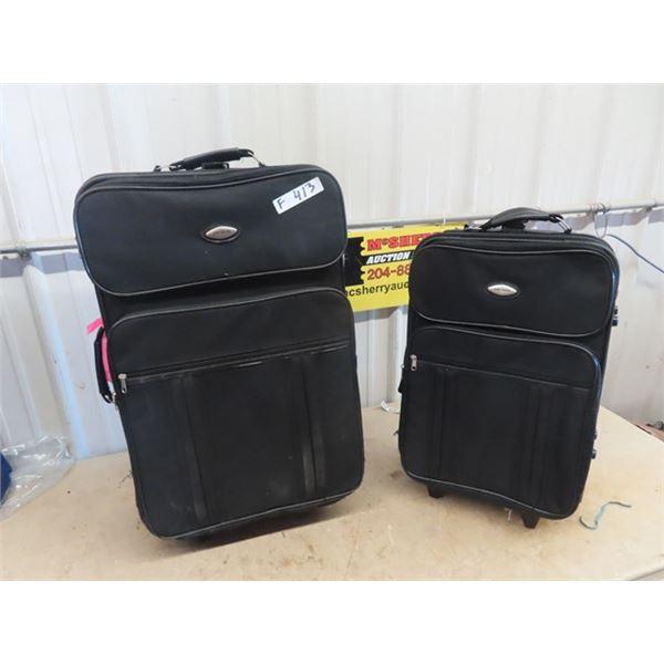 "(F) 2 Pc Luggage ""Jones Travel"""