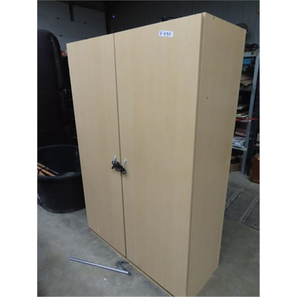 "(F) Wardrobe Closet- Modern & Flimsey 71"" X 48"" x 20"""