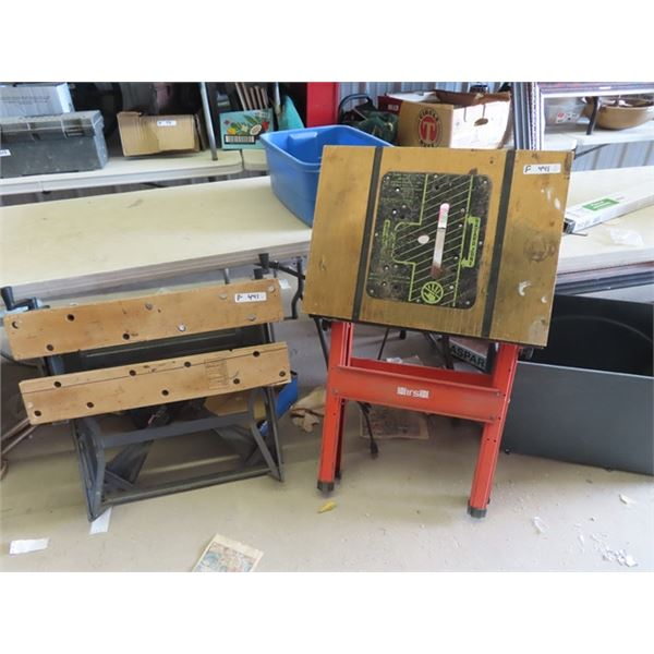(F)Workmate Bench & Saw Stand
