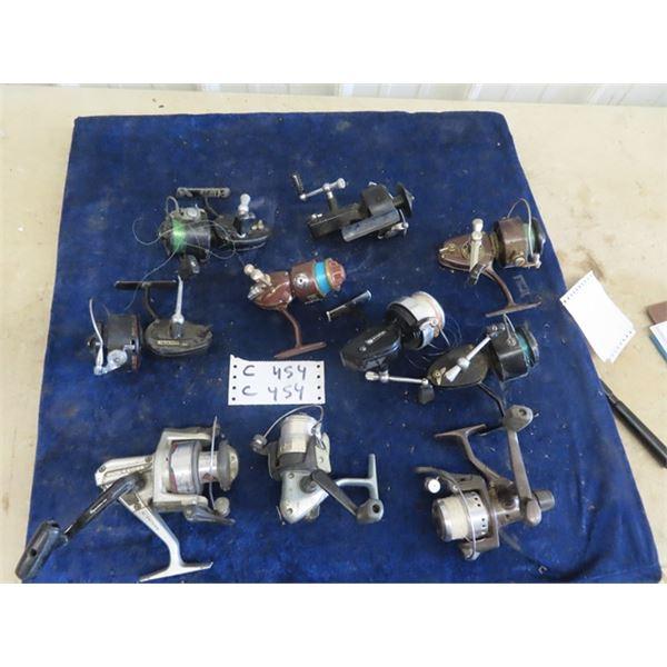 10 FIshing Reels - Regal 350 SB, Daiwa 15001, Quantum ST 2R, 3 Mitchell 300, Mitchell 218, King Fish
