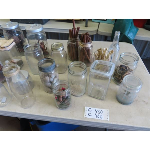 Sealers Milk Bottles, Some Are Displaying Product