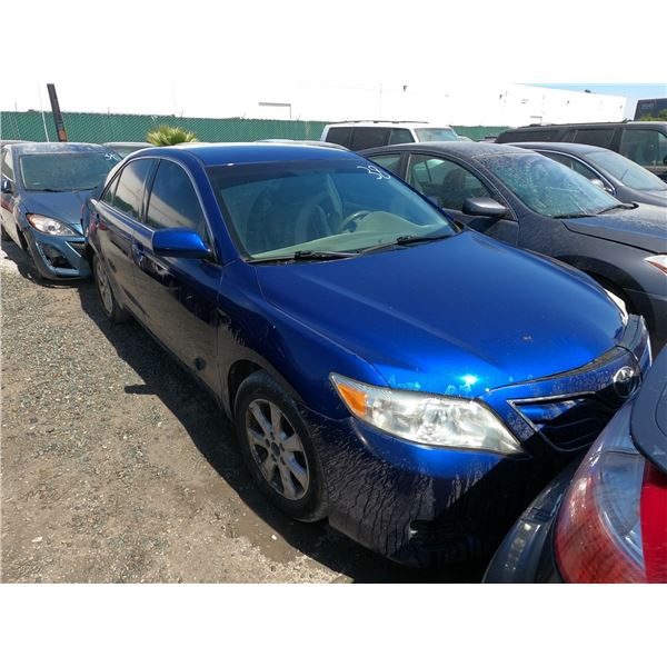 TOYOTA CAMRY 2011 APP DUP/T -