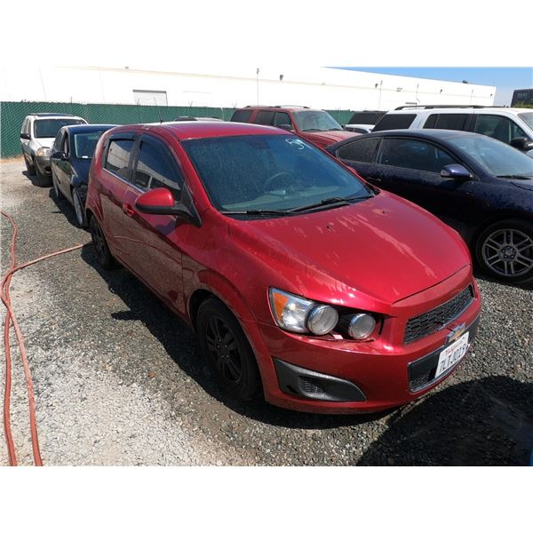 CHEVY SONIC 2012 SALV/T