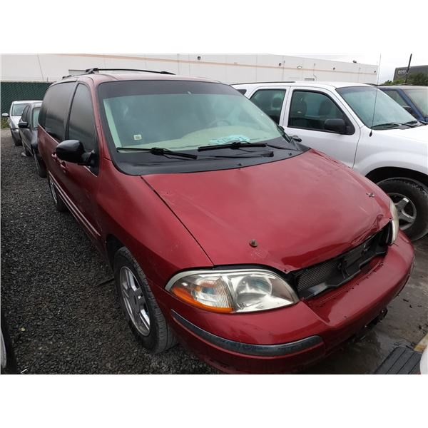 FORD WINDSTAR 2002 SALV/T