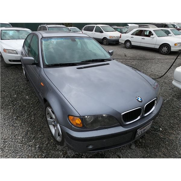BMW 325I 2004 T-DONATION