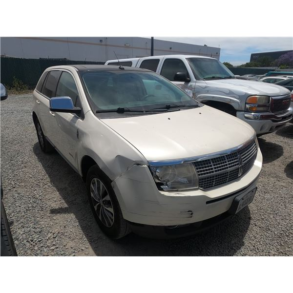 LINCOLN MKX 2008 T