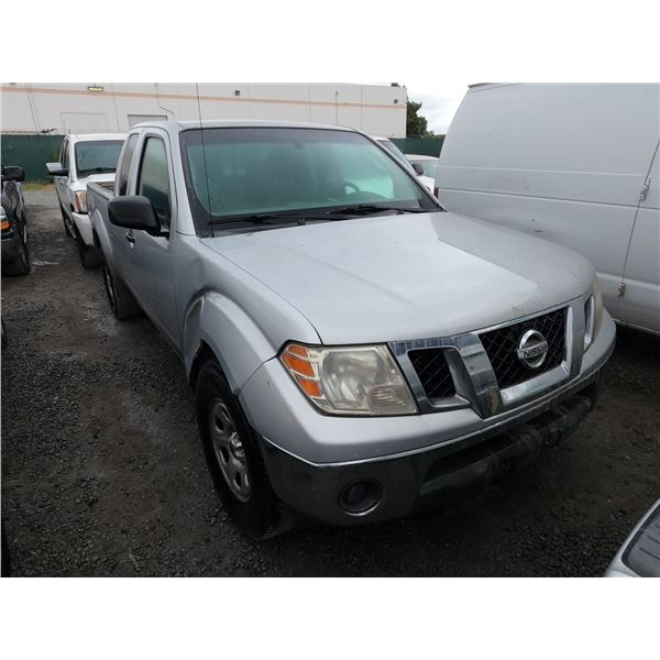 NISSAN FRONTIER 2009 T-DONATION